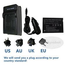 Battery + charger for Panasonic Lumix DMW-BCG10e DMC-TZ30 TZ6 TZ7 TZ10 TZ18 TZ65