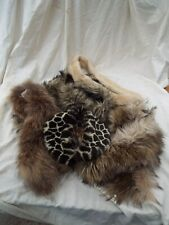 Faux Fur Five Various Vintage Collars and Scarves