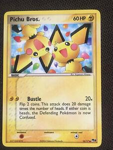 Pokemon Card Pichu Bros 16/17 Pop Series 3 NM Non Holo