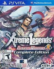 Dynasty Warriors 8: Xtreme Legends -- Complete Edition (Sony PlayStation Vita, 2