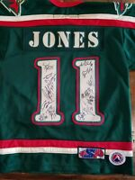 Team Signed Houston Aeros Youth Size Authentic Jersey