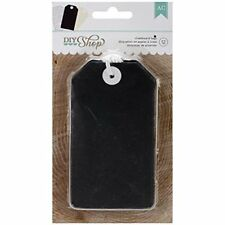 American Crafts 12-Piece Diy Shop Chalkboard Tags