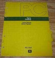 Original John Deere 1300 Planter Parts Catalog Manual Book Pc1141 1973 jd