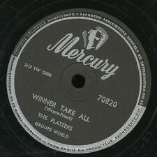 THE PLATTERS 78 TOURS RPM THE GREAT PRETENDER