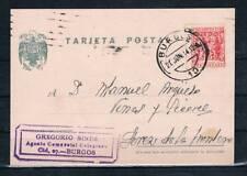 1944.- BURGOS A JEREZ DE LA FRONTERA   T.POSTAL