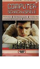 Computer Chess & Games-Issue 1 - 1985