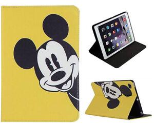 For iPad Mini 1 2 3 4 5 Mickey Mouse Walt Disney Cartoon Smart Stand Case Cover