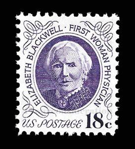 1974 Scott #1399 .18¢ Dr. Elizabeth Blackwell, Physician -  VF-MNH-O/G Single