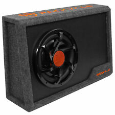 "Rockville RWS10CA Slim 1000 Watt 10"" Amplified Powered Car Subwoofer Enclosure"