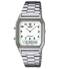 Casio AQ-230A-7B Silver Analog and Digital Watch AQ-230A-7B COD Paypal