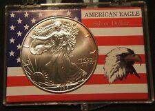 RAREST 1996 AMERICAN EAGLE SILVER DOLLAR - MS-BU UNC - TONED BEAUTY