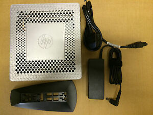 HP T610 THIN CLIENT + STAND + PSU ( DC 1.65GHZ / 16GBF / 4GBR / WIN 8 )