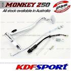 KDF BRAKE PEDAL REAR ROD 50 BACK BIKE SPRING FOR HONDA MONKEY Z50 Z50J Z50R