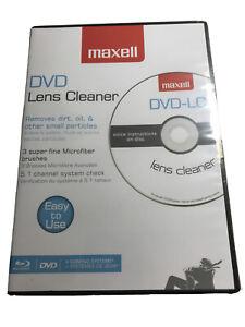 Maxell DVD-LC DVD Laser Lens Cleaner [New, Sealed] 190059
