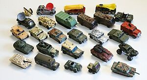 LM#27 26 different MATCHBOX LESNEY Military Vehicles