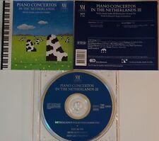 cd: PIANO CONCERTOS IN THE NETHERLANDS - TRISTAN KEURIS - JAN VAN VLIJMEN