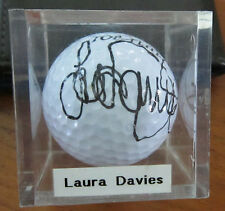 Laura Davies Signed Golf Ball LPGA