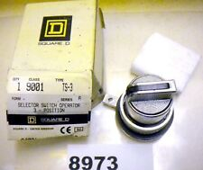 (8973) Square D 3 Pos Selector Switch 9001-Ts3