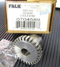 "Falk Rexnord 1020T 20T Steel Flex Coupling Hub 0704589 .625 5/8""  Keyed Bore"