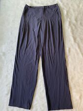 Crea Concept Grey Side Zip Stretch Pant Size EU 38 US Small