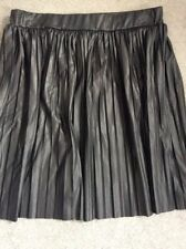 Patternless Pleated, Kilt Petite Short/Mini Skirts for Women