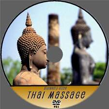 LEARN THAI MASSAGE VIDEO DVD GREAT RELAXING HEALTHY THERAPY FOR BEGINNERS NEW