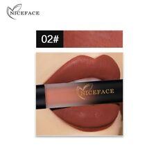 Niceface 18 Colors Liquid Lip Gloss Lipsticks Vogue Lipstick Waterproof Lipstick 2#