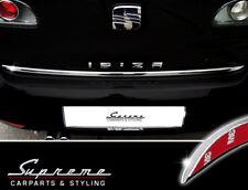 SEAT Ibiza 6L  02-08  Chrom Zierleiste 3M Tuning Heckleiste Kantenschutz