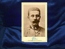 ARCHDUKE FRANZ FERDINAND Death Sparked WWI Cabinet Card Photograph