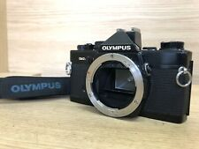 *Exc+5 w/ Data back* Olympus OM-2N Black 35mm SLR Film Camera Body Only From JPN