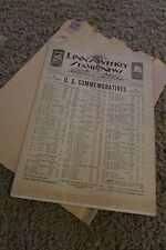 Vintage 1932 Linn's Weekly Stamp News Newspaper - rare early edition