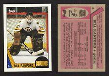 1987-88 Topps #13 Bill Ranford DP RC Rookie Card -