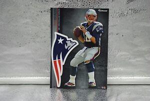 """5 Fathead Tom Brady New England Patriots NFL Decal Team Logo 7"""" Tradable"""