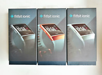 Fitbit Ionic Smartwatch GPS Fitness Activity Tracker Gold Black Silver