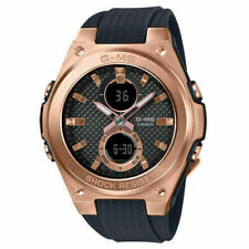 Casio Baby-G G-MS Rose Gold Black Tough Shock Resistance Watch MSGC100G-1A