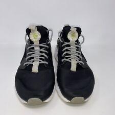 Men's Nike Air Huarache Black Gray Sneakers Size 8.5