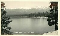 California Lake Tahoe Mt Rose 1930s RPPC Photo Postcard 12416