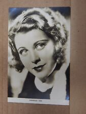 Film Star Postcard Frances Dee  Real photo unposted Film weekly series PB