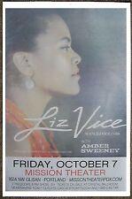 Liz Vice 2016 Gig Poster Portland Oregon Concert