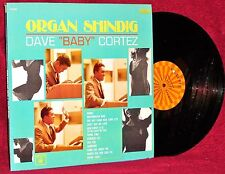 "LP DAVE ""BABY"" CORTEZ ORGAN SHINDIG 1965 ROULETTE VG++/ NM STEREO"