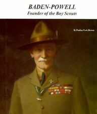 Baden-Powell: Founder of the Boy Scouts (Picture Story Biography)-ExLibrary