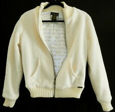 BABY PHAT BY JEAN CO CREAM COLOR COAT SIZE SMALL/MED BUST 38 INCHES
