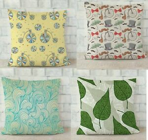"12 To 24"" in  Radanya Cushion Cover Handmade Printed Colorful Cushion Cover"