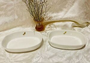 Wedgwood - Qantas, Australian Airlines pair of dishes