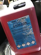 CONCRETE ACID ETCH SOLUTION SURFACE DEEP CLEAN SUPERCOAT INDUSTRIAL,FACTORY