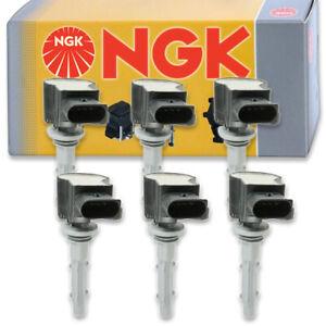 6 pcs NGK Ignition Coil for 2006-2013 Mercedes-Benz R350 3.5L V6 - Spark uu