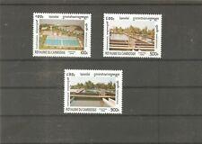 Kambodscha 1996 Cambodia 1667/69 Wasserwirtschaft postfrisch