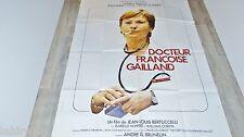 DOCTEUR FRANCOISE GAILLAND  ! a girardot affiche cinema vintage 1977 ferracci