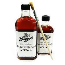 Burgol Ledersohlenöl 125 ml  Grundpreis 12,72 € / 100ml