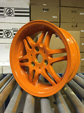"15"" ORANGE STAGGERED WHEELS SUIT SMART CAR d-lux 3/112 ET20/14 FITS SMARTCAR"